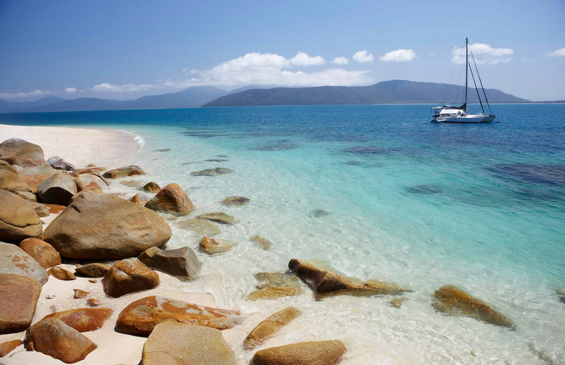 Fitzroy Island is a great thing to do in Cairns