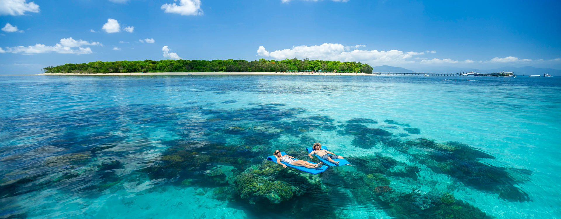 Green Island and Great Barrier Reef Tour