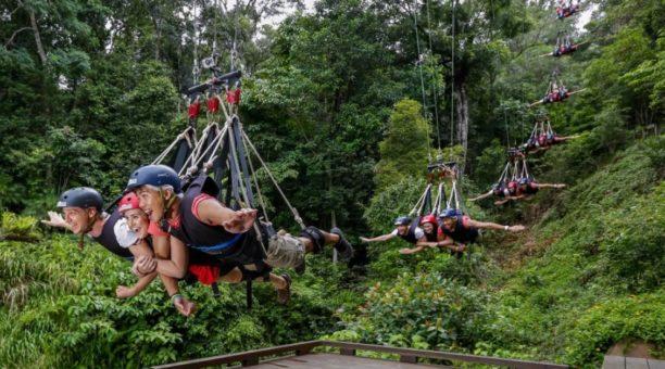 AJ Hackett Giant Jungle SwingNorth Queensland Australia