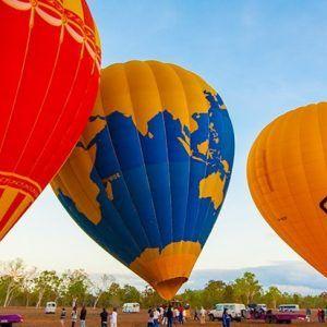 Extended Flight Hot Air Balloon Cairns