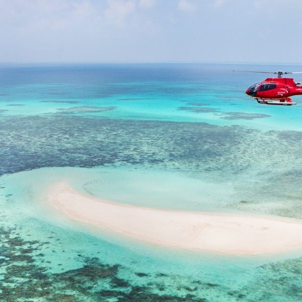 Helicopter tour 30 Minute Scenic Reef flight