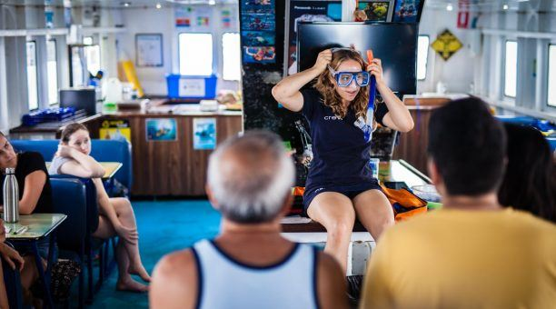 Snorkel Demonstration on Compass