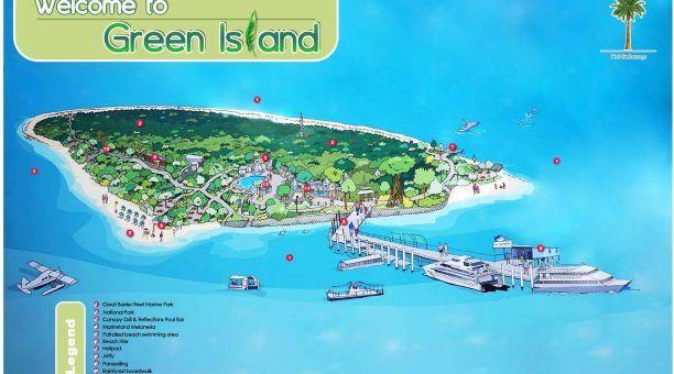 Green Island Map